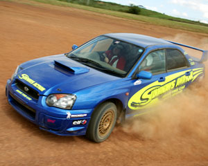 Rally Driving Melbourne - Half Day 32 Lap Drive AND 2 Hot Laps