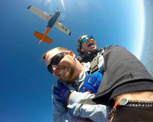 Skydiving Langhorne Creek Wine Region SA - Tandem Skydive 12,000ft