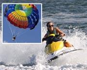 Jet Ski Hire & Parasail for 2 - Gold Coast