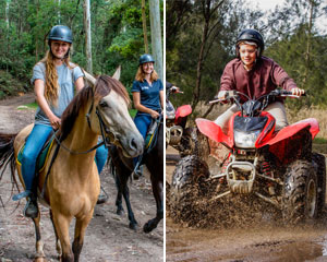 Horse Riding and Quad Biking - Central Coast, Sydney