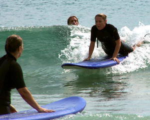Surfing, 1 hr Group Lesson - Newcastle