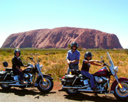 Harley Davidson, 1.5hr Ayers Rock Sunrise/Sunset Tour - NT