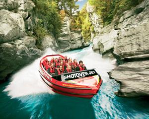 Jet Boating - Shotover River, Queenstown NZ