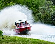 Jet Boat Ride - Rotorua, New Zealand