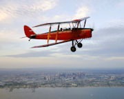 Tiger Moth, Scenic Joy Flight, 1.5 Hour - Point Cook, Melbourne