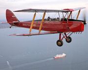 Tiger Moth, Scenic Joy Flight, 2 Hour - Point Cook, Melbourne
