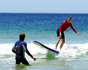 Surfing, 1 hr Private Lesson - Newcastle
