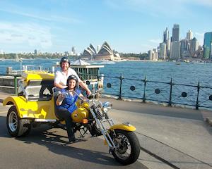 Trike Tour, 1 Hour, City Explorer Tour for 2 - Sydney