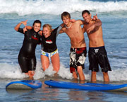 Surfing, Full Day Surf Adventure, 2 Lessons - Sydney (Weekday)