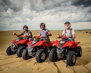 Quad Biking Port Stephens, Stockton Sand Dunes, Sandpit Adventure