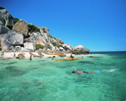 Sea Kayaking Fitzroy Island, Cairns