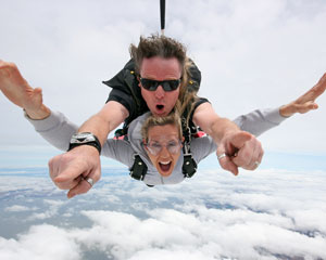 Skydiving Langhorne Creek Wine Region SA - Tandem Skydive 14,000ft