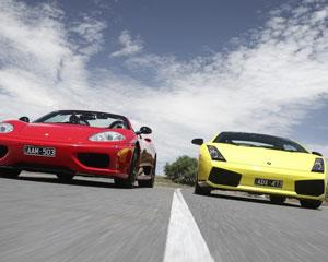 Ferrari & Lamborghini Drive Melbourne (1 Hour)