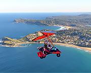 Microlight, 40 Minute Combination Flight - Central Coast