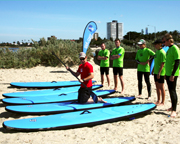 Stand Up Paddle Boarding, 90 Minute Group Session - St Kilda