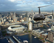 Helicopter Scenic Shared Flight, 30 min, Extended Melbourne, Port Phillip & Coast