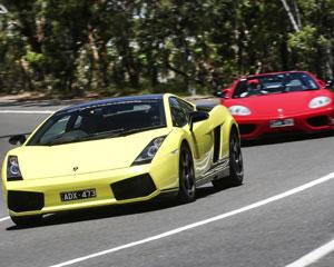 Ferrari & Lamborghini Drive Mornington Peninsula (VIP Experience Includes Passenger)