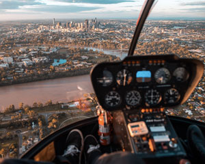 Helicopter Flight, Mount Coot-Tha Tour - Brisbane