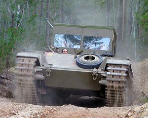 Tank Ride, Ride on a Centurion Tank - Brisbane