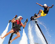 Jet Pack AND Board Combo, In-Water Training PLUS 30 Minute Flight Time - Gold Coast