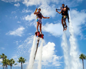 Jet Pack AND Board Combo, In-Water Training PLUS 30 Minute Flight Time - Sydney