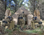 Paintball Canberra (Tuggeranong) - Entry, Full Day Games Plus 800 Paintballs