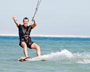 Kiteboarding, 2 Hour Group Lesson - Brisbane