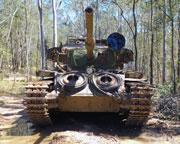 Tank Ride for 2, Ride in The Gun Turret of a Centurion Tank - Brisbane