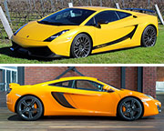 Lamborghini & McLaren 3 Hour Supercar Cruise PLUS Passenger Rides For Free - Hunter Valley (departs Newcastle)