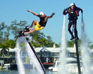 Jet Pack OR Board Flight, In-Water Training PLUS 15 Minute Flight - Champion Lakes, Perth