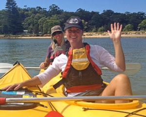 Double Kayak Hire, 2hr - Bundeena, Sydney
