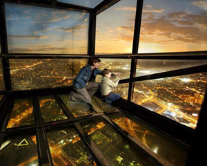 Eureka Skydeck 88 And The Edge Experience - Melbourne