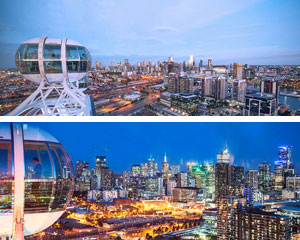 Melbourne Star Observation Wheel Day & Night Admission (2 Flights!)
