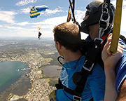 Skydiving Over The Beach Newcastle - Weekday Tandem Skydive Up To 15,000ft