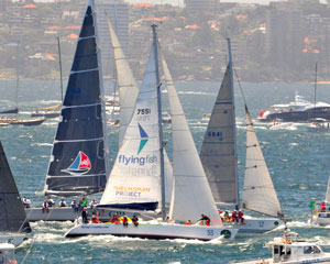 Sail in the Rolex Sydney to Hobart Yacht Race