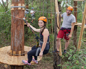 Tree Top Adventure Park Experience - Western Sydney