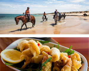 Horse Riding, St Andrew's Beach Horse Ride & Dine Experience, 2 Hours - Mornington Peninsula, Melbourne