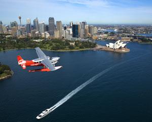 Sydney Seaplanes Scenic Flight And Shark Island Picnic Brunch