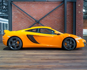 McLaren 12C Supercar Beach Cruise PLUS Passenger Rides For Free - Newcastle