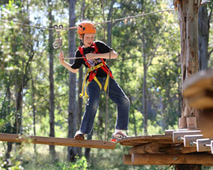 Tree Top Adventure Park Experience For Children 3-9 - Western Sydney