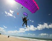 Skydiving Brisbane's Bribie Island - Tandem Beach Jump Up To 15,000ft