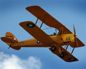 Tiger Moth Vintage Biplane, 30 Minute Adventure Flight - Maitland