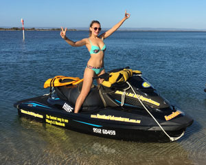 Jet Ski Mandurah, Awesome Estuary Tour 60 Minutes - Perth (RIDER PLUS PASSENGER) No licence required!