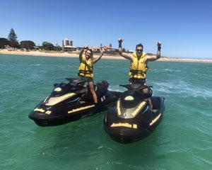 Jet Ski Mandurah, Extreme Ocean Tour 90 Minutes - Perth (SINGLE RIDER)  No licence required!