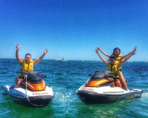 Jet Ski Hillarys, Ocean Blast Tour 30 Minutes - Perth (SINGLE RIDER) No licence required!