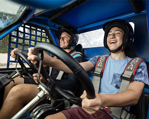 Children's (5-17) Wild Buggy Dual Control 10 Minute Driving Adventure - Melbourne