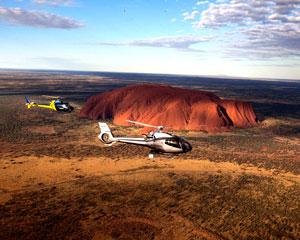 Helicopter Scenic Flight, 25-minute - Uluru & Kata Tjuta