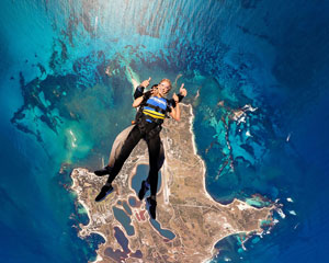 Skydiving Onto Rottnest Island - Tandem Skydive Up To 14,000ft - Perth WA