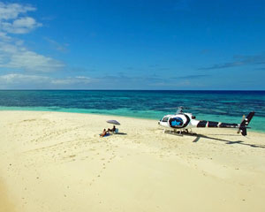 Great Barrier Reef Sand Cay Helicopter Escape - Cairns
