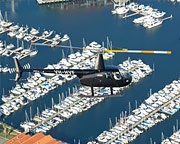 Helicopter Tour of Perth City, Fremantle & Little Island Private Flight 30 minutes - Hillarys Boat Harbour